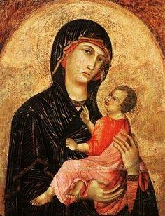 Duccio di Buoninsegna (Italian, Sienese, 1255-1319). Madonna and Child
