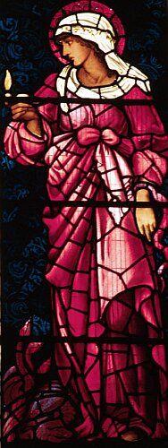 Faith, St Martin's Church, Cumbria, by Sir Edward Burne-Jones || stained glasses .. X ღɱɧღ ||