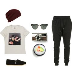 """Chill Outfit #1"" by ohlookitsdonte on Polyvore"