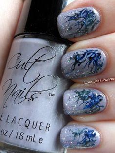 Adventures In Acetone: Needle Marble Design