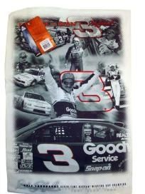Dale Earnhardt #3, Printed Hand Towel for Display ronstees
