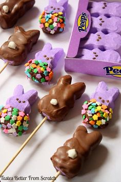 Offer Chocolate-Dipped Peeps