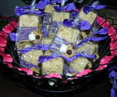12 Smore Love Rice Crispy Krispie Treats S'more Love Candy Buffet Sweet Table Camping Fishing Wedding Baby Bridal Shower Treats Favors