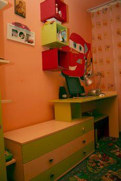 Corner Desk, Dresser, Furniture, Home Decor, Corner Table, Powder Room, Decoration Home, Room Decor, Stained Dresser
