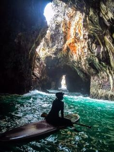 Free To Be: Adventure is Out There. Paddle Boarding into Sea Caves, Oregon Coast