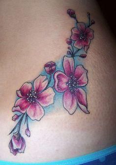 Cherry Blossom Flowers tattoo
