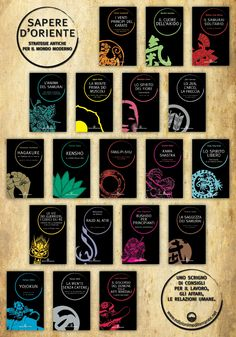 """Manifesto pubblicitario del 2013 per la nostra prestigiosa collana """"Sapere d'Oriente"""" diretta da Bruno Ballardini"""