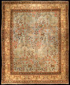 Doris Leslie Blau is an exclusive New York rug gallery offering antique rugs for sale. Persian Carpet, Persian Rug, Iranian Rugs, Native American Rugs, Tabriz Rug, Nursery Rugs, Beige Carpet, Red Carpet, Dark Carpet