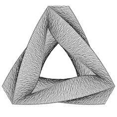Infinite Penrose Triangle gif