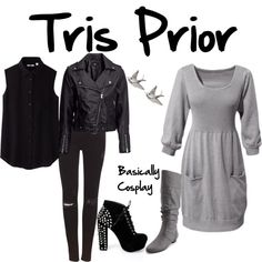 """Tris prior divergent"" by victorialives on Polyvore Love"