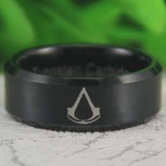 Want to join the brotherhood? Then gear up with some fashionable jewelry to represent your loyalty! These rings are made from tungsten carbide; two times stiffer than steel and denser than titanium. Tag a friend that would like this and remember to like and repin if you like what you see! Click here to order--> http://www.teebrewery.com/collections/the-assassins-collection/products/the-brotherhood-ring