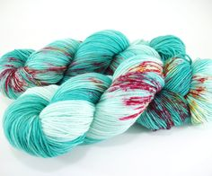 Dragon Heartstring / Hand Dyed Yarn / Archduchess Base / Fingering Weight / 75/25 Superwash Merino Nylon Blend Sock Yarn by AstraeaMeris on Etsy