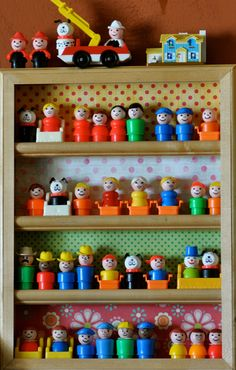 Crafty Polly's collection of vintage Fisher Price Little People circa 1970's