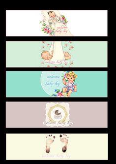 cupcake topper baby showeer pinterest babyparty. Black Bedroom Furniture Sets. Home Design Ideas