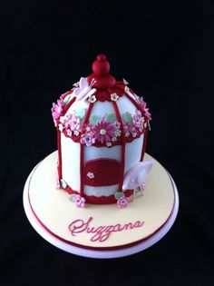Birdcage Cake By Carlabel on CakeCentral.com