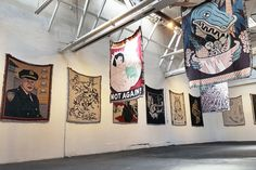"""Soft"" an Exhibition of Woven Art: Vans presents a textile-driven group show at LA's Superchief Gallery"