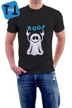 2a2f922ed1e0a Humour - T-shirt coton noir Homme Tshirt - Halloween marrant - Idée cadeaux  • 041 sur Etsy