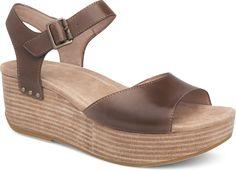 fd838ee02c2 Silvie - Platform sandal in walnut brown! Dansko Shoes