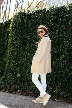comment porter un modle beige de sneakers femme nike