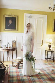 Skulls and Scotland Themed Wedding: Rosie & Colin