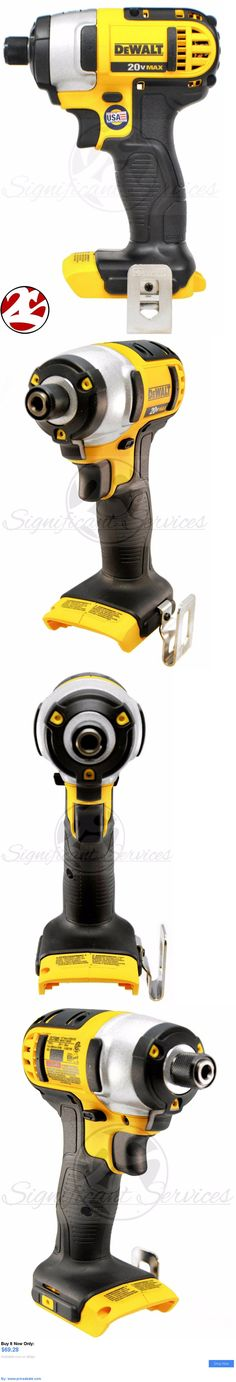 tools: New Dewalt Dcf885 20V 20 Volt Max Lithium Ion 1/4 Cordless Impact Drill Driver BUY IT NOW ONLY: $69.28 #priceabatetools OR #priceabate