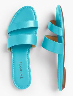 Sadie Slides-Bright Colors - Talbots