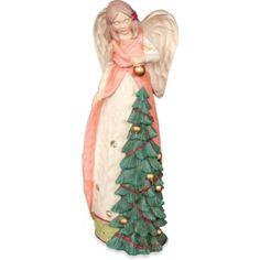 Engel met kerstboom van Angel Star