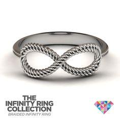 #braided. #personalized. #jewelry. #ring. #infinity. #JewlrCom. #Jewlr2Win.