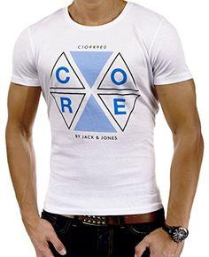 JACK & JONES - AUKO Herren T-Shirt Print Oberteil Blau We... http://www.amazon.de/dp/B013K6YNVM/ref=cm_sw_r_pi_dp_76ypxb113J5ZN
