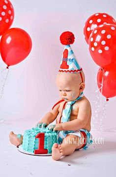 Personalized baby boy smash the cake outfit/ photo outfit/first birthday set in aqua and white chevron and red trim 1st Birthday Themes, 1st Birthday Cake Smash, First Birthday Pictures, Twin First Birthday, Baby Birthday, Birthday Ideas, Cake Smash Outfit Boy, First Birthday Photography, Baby Party