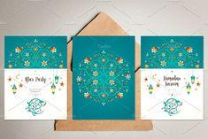 4. Ramadan Pre-Made Cards. by O'Gold! on @creativemarket
