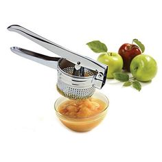Stainless Vegetable Hand Press Potato Masher Ricer Puree Fruit Juicer Blender Ricer -- Be sure to check out this awesome product.