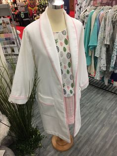 Yummy new Terry Cloth from Shannon- treat yourself to a spa robe at home!