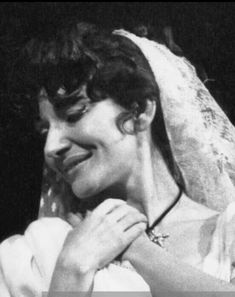 """Maria Callas na ópera """"Tosca"""" (1964/65)."""