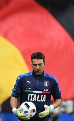 f0995c47305 Italian goalkeeper Gianluigi Buffon is pictured during a friendly football  match Germany vs Italy in Munich