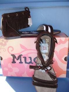 MUDD Womens SAHARA Dk Brown Fringed sandals NEW #MUDD #Strappy