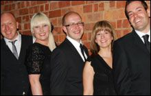 For The Record are a great value Midlands based 5 piece band performing classic its from the 60s onwards. Perfect for wedding entertainment and parties, For The Record may be the ideal band to hire for a fun night of dancing. Plus, you can expect a friendly, no-nonsense service from bandleader Malcolm who will discuss the music with you in advance and ensure you have a great night. If you're contemplating having a party and need a live covers band then consider For The Record.
