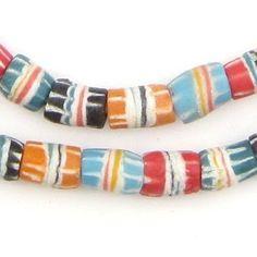 Multicolor Strawstack Beads