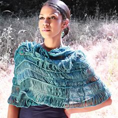 Hairpin Lace Crochet Pattern - Convertible Wrap - Shrug, poncho, capelet, shawl and more