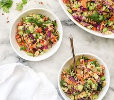 Thai Quinoa Salad | 19 Quinoa Salads That Will Make You Feel Good About Your Life