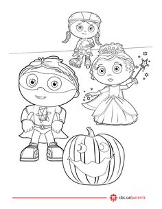 printable halloween colouring pages super whycolouring