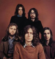 Very early Genesis publicity photo, ca 1971