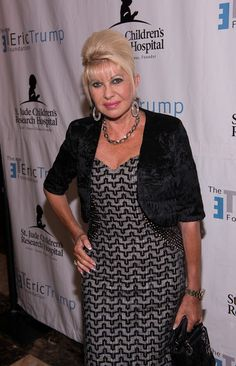 Ivana Trump Photos - Ivana Trump attends The Eric Trump Annual Golf Tournament at Trump National Golf Club Westchester on September 2014 in Briarcliff Manor, New York. - The Eric Trump Annual Golf Tournament Trump Photo, Ivana Trump, Eric Trump, February, Age, Fashion, Moda, Fashion Styles