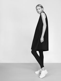 NON waistcoat 100% finest merino wool fabric model Malwina Garstka Modelplus Photographed by Kasia Bielska thisisnon.com
