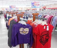 Huge buyout of officially licensed collegiate wear for the whole family! Priced at $1.99 and up. Available at all 10 Ohio Thrift Store locations.