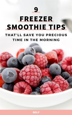 Make-ahead freezer smoothies are the hot (or cold) trend in easy, breezy breakfasts. And while you can buy pre-mixed packs in your grocery store's frozen aisle, why spend the cash when they're so easy to DIY?