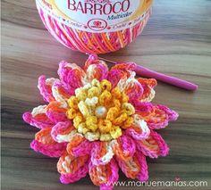 Receitas Círculo - Flor Bromélia