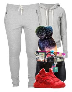 """Teach You How To Jug With Me ✊"" by ogindiaaa ❤ liked on Polyvore featuring James Perse and NIKE"