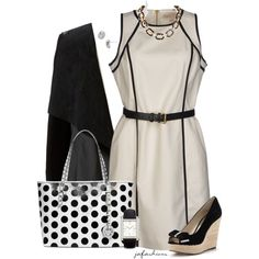 MK for the Office, created by jafashions on Polyvore