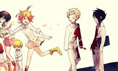 The Promised Neverland Mirai Nikki, Inuyasha, Anime Couples, Anime Art, All Anime, Anime Manga, Fairy Tail, Tokyo Ghoul, Naruto